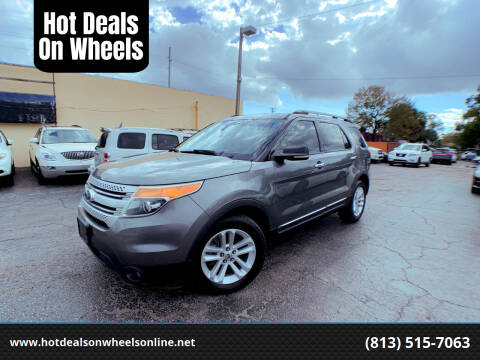 2011 Ford Explorer for sale at Hot Deals On Wheels in Tampa FL