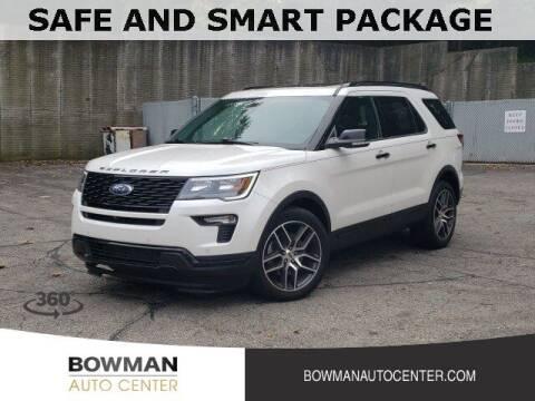 2019 Ford Explorer for sale at Bowman Auto Center in Clarkston MI