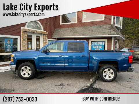 2015 Chevrolet Silverado 1500 for sale at Lake City Exports in Auburn ME
