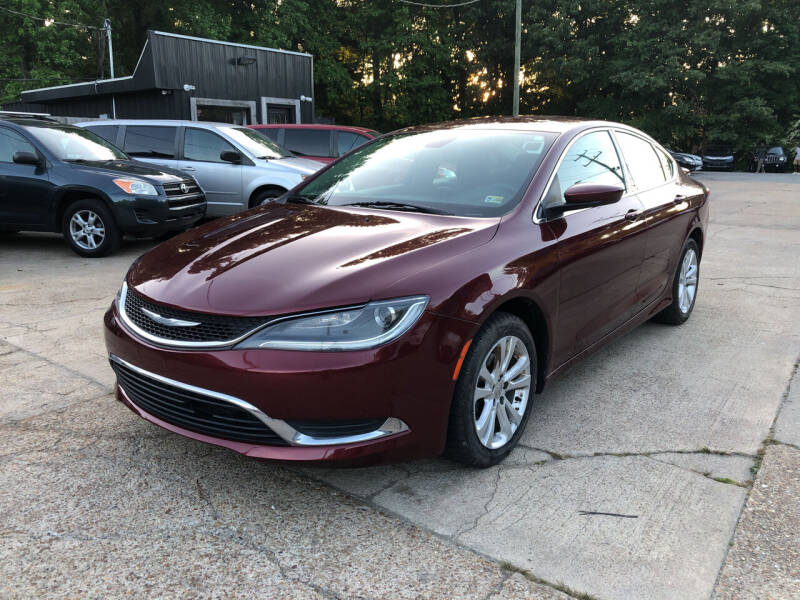 2015 Chrysler 200 for sale at Oceana Motors in Virginia Beach VA