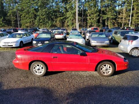 1995 Chevrolet Camaro for sale at WILSON MOTORS in Spanaway WA