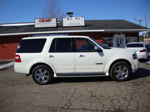 2007 Ford Expedition for sale at G and G AUTO SALES in Merrill WI