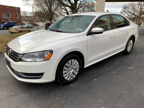 2013 Volkswagen Passat for sale at On The Circuit Cars & Trucks in York PA
