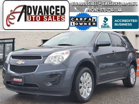 2011 Chevrolet Equinox for sale at Advanced Auto Sales in Tewksbury MA