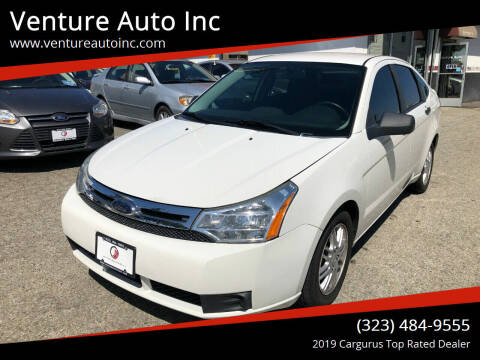 2009 Ford Focus for sale at Venture Auto Inc in South Gate CA