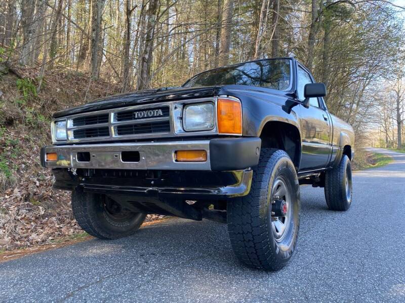 1987 Toyota Pickup for sale at Lenoir Auto in Lenoir NC