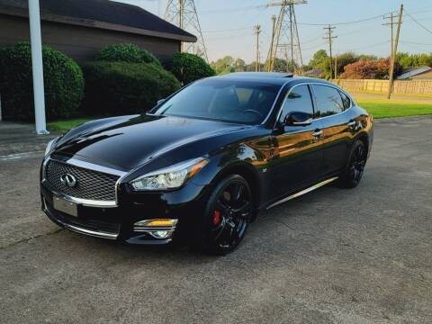 2019 Infiniti Q70L for sale at MOTORSPORTS IMPORTS in Houston TX