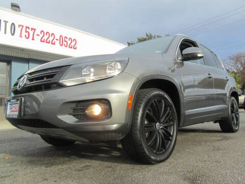 2012 Volkswagen Tiguan for sale at Trimax Auto Group in Norfolk VA