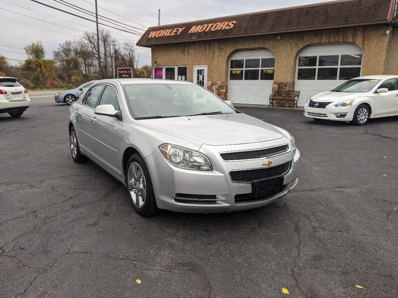 2010 Chevrolet Malibu for sale at Worley Motors in Enola PA