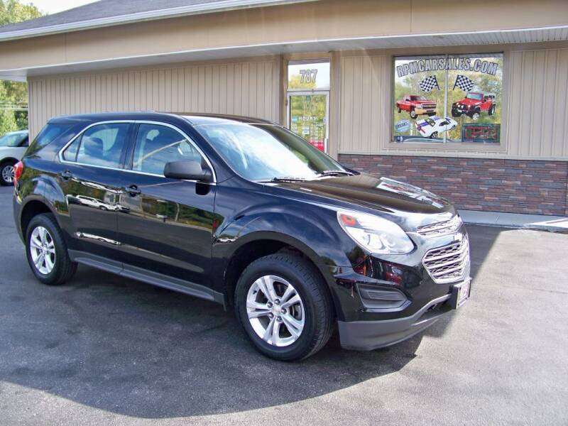 2016 Chevrolet Equinox for sale at RPM Auto Sales in Mogadore OH