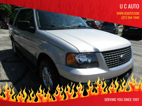 2006 Ford Expedition for sale at U C AUTO in Urbana IL