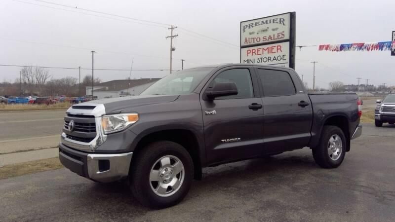 2015 Toyota Tundra for sale at Premier Auto Sales Inc. in Big Rapids MI