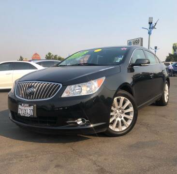 2013 Buick LaCrosse for sale at LUGO AUTO GROUP in Sacramento CA