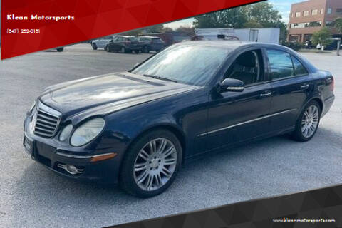 2008 Mercedes-Benz E-Class for sale at Klean Motorsports in Skokie IL