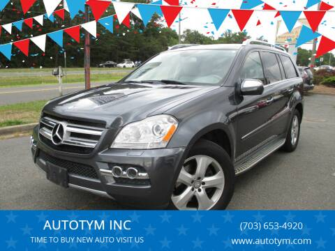 2010 Mercedes-Benz GL-Class for sale at AUTOTYM INC in Fredericksburg VA