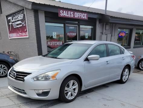 2013 Nissan Altima for sale at Fletcher Auto Sales in Augusta GA