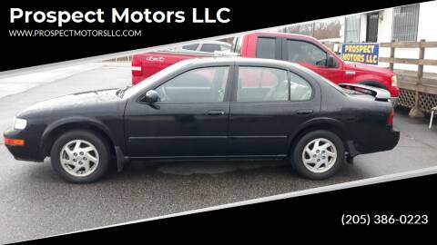 1996 Nissan Maxima for sale at Prospect Motors LLC in Adamsville AL