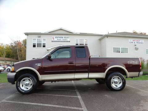 2000 Ford F-150 for sale at SOUTHERN SELECT AUTO SALES in Medina OH