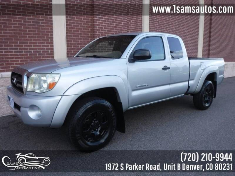 2008 Toyota Tacoma for sale at SAM'S AUTOMOTIVE in Denver CO