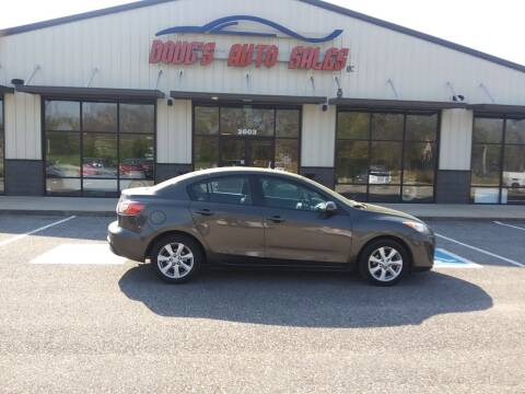 2010 Mazda MAZDA3 for sale at DOUG'S AUTO SALES INC in Pleasant View TN