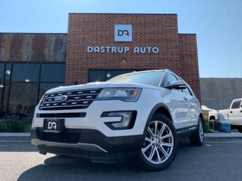 2016 Ford Explorer for sale at Dastrup Auto in Lindon UT