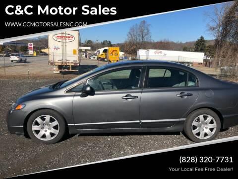 2009 Honda Civic for sale at C&C Motor Sales LLC in Hudson NC