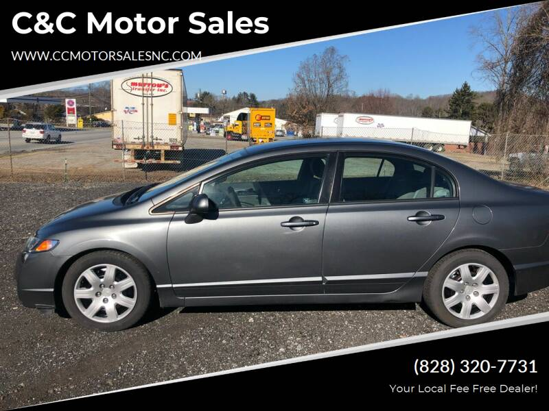 2009 Honda Civic for sale at C&C Motor Sales LLC in Hudson NC