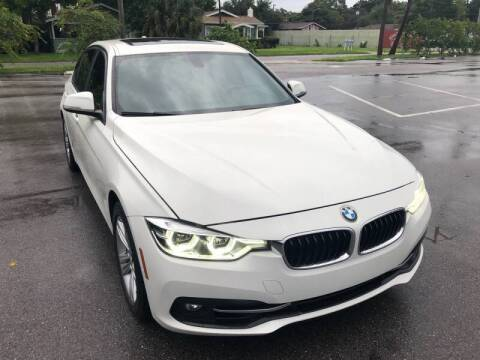 2016 BMW 3 Series for sale at LUXURY AUTO MALL in Tampa FL