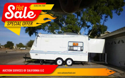2001 SPORTSMAN ULTRA LITE for sale at AUCTION SERVICES OF CALIFORNIA in El Dorado CA
