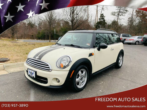 2011 MINI Cooper Clubman for sale at Freedom Auto Sales in Chantilly VA