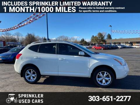 2009 Nissan Rogue for sale at Sprinkler Used Cars in Longmont CO
