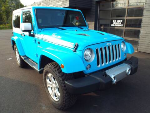 2017 Jeep Wrangler for sale at Carena Motors in Twinsburg OH
