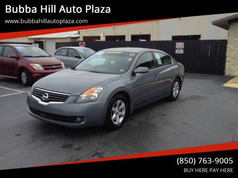 2009 Nissan Altima for sale at Bubba Hill Auto Plaza in Panama City FL
