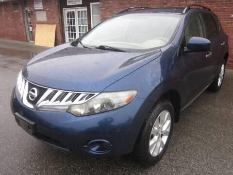 2009 Nissan Murano for sale at Tewksbury Used Cars in Tewksbury MA