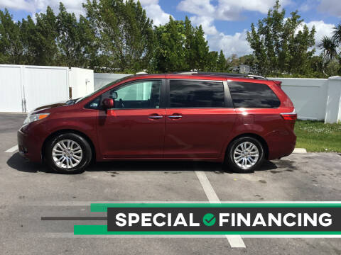 2015 Toyota Sienna for sale at Second 2 None Auto Center in Naples FL