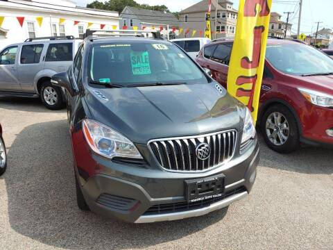 2016 Buick Encore for sale at Porcelli Auto Sales in West Warwick RI