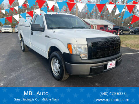 2013 Ford F-150 for sale at MBL Auto Woodford in Woodford VA