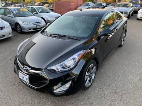 2014 Hyundai Elantra Coupe for sale at C. H. Auto Sales in Citrus Heights CA
