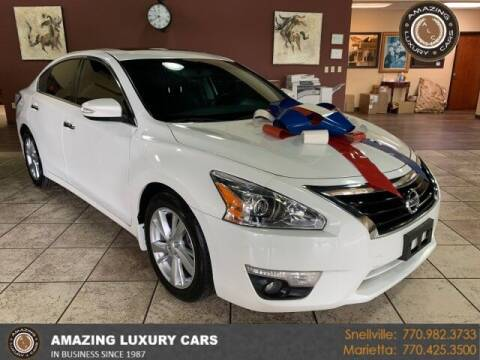 2015 Nissan Altima for sale at Amazing Luxury Cars in Snellville GA