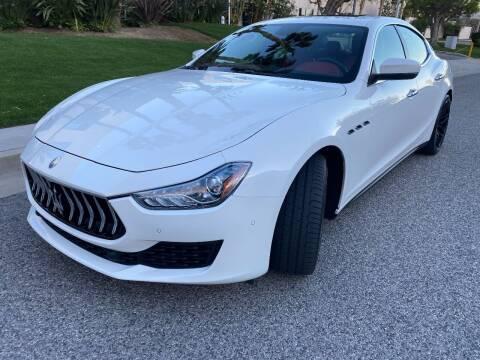 2018 Maserati Ghibli for sale at Donada  Group Inc in Arleta CA