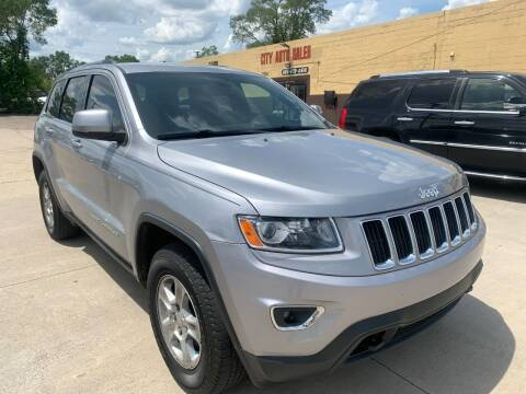 2014 Jeep Grand Cherokee for sale at City Auto Sales in Roseville MI