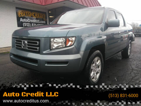 2006 Honda Ridgeline for sale at Auto Credit LLC in Milford OH