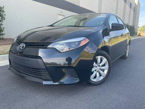 2014 Toyota Corolla for sale at el camino auto sales - Global Imports Auto Sales in Buford GA