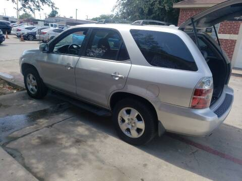2005 Acura MDX for sale at El Jasho Motors in Grand Prairie TX