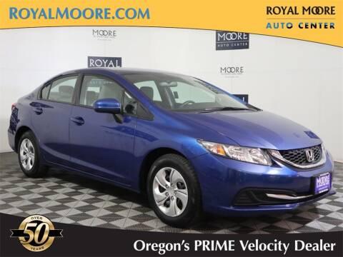 2015 Honda Civic for sale at Royal Moore Custom Finance in Hillsboro OR