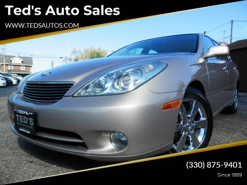 2005 Lexus ES 330 for sale at Ted's Auto Sales in Louisville OH