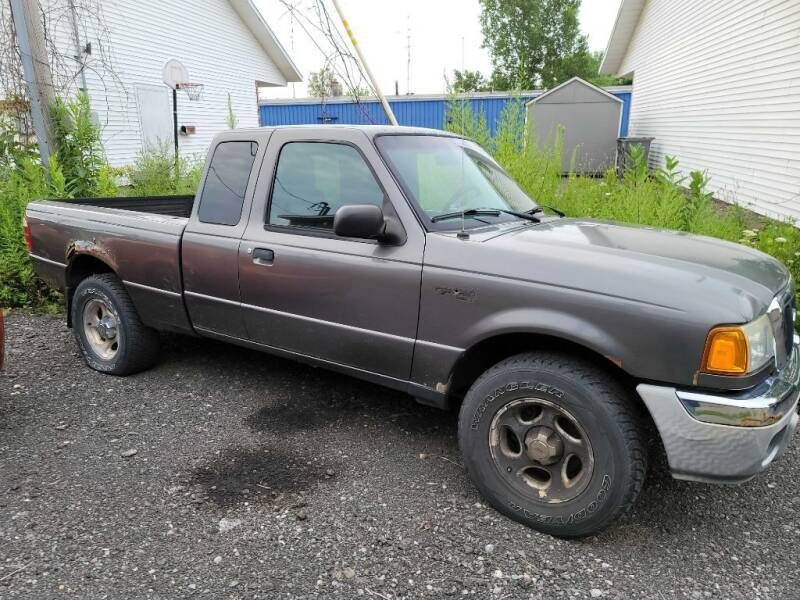 2004 Ford Ranger for sale at CRYSTAL MOTORS SALES in Rome NY