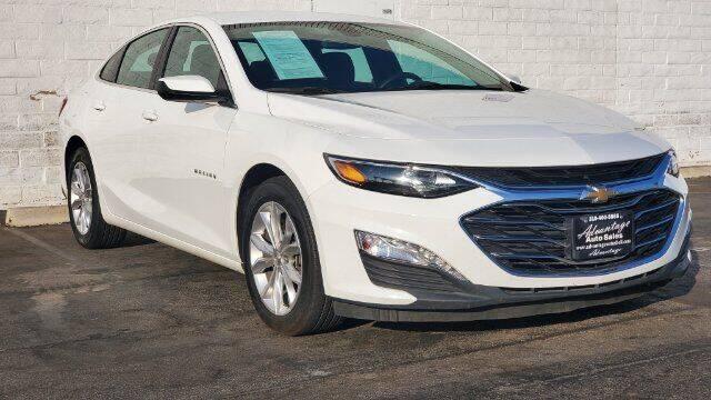 2019 Chevrolet Malibu for sale at ADVANTAGE AUTO SALES INC in Bell CA