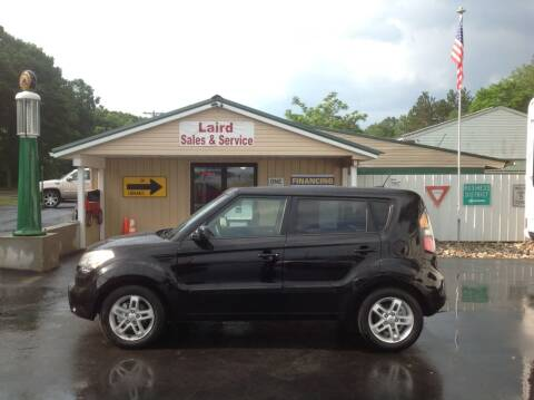 2011 Kia Soul for sale at LAIRD SALES AND SERVICE in Muskegon MI