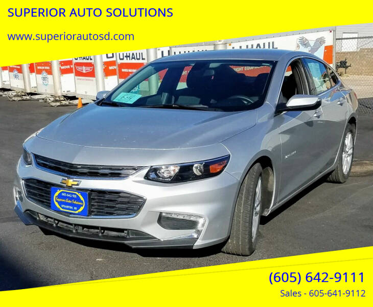 2018 Chevrolet Malibu for sale at SUPERIOR AUTO SOLUTIONS in Spearfish SD